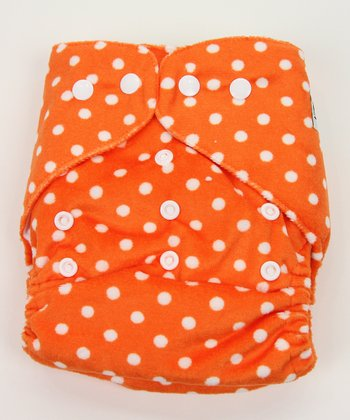 Creamsicle Minky Pocket Diaper