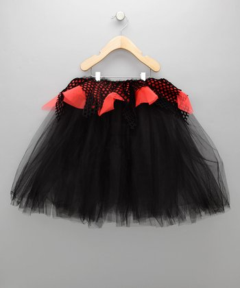Black & Orange Spooky Tutu