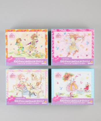 Fancy Nancy Lenticular Puzzle Set