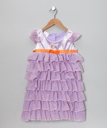 Purple Fancy Nancy Dress
