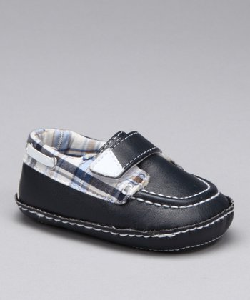 Navy & Plaid Owen Loafer