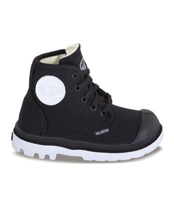 Black & White Pampa Hi-Top Sneaker