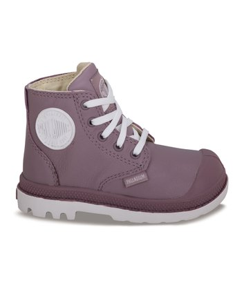 Elderberry Leather Pampa Hi-Top Sneaker