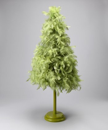Apple Green Feather Tree
