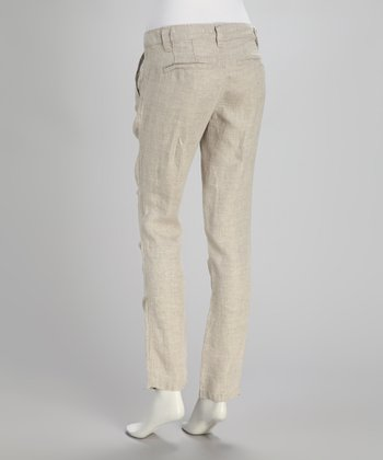 Tan Ace Skinny Pants