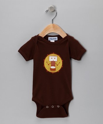 Chocolate Drum Bodysuit - Infant