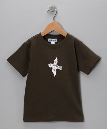 Army Green Peace Dove Tee - Toddler & Boys