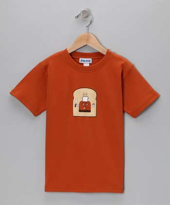 Texas Orange Toast Up Tee - Boys