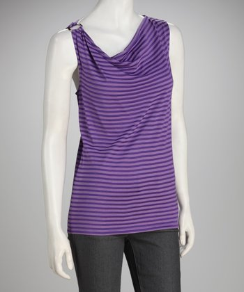 Focus 2000 Purple Stripe Ring Top
