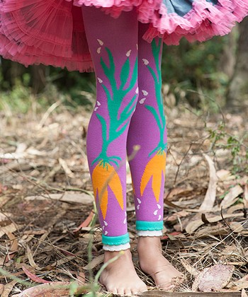 Purple Carrot Organic Leggings - Infant, Toddler & Girls