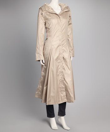 Champagne Trench Coat