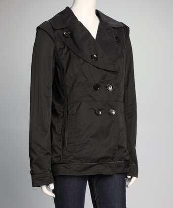 Black Button Jacket