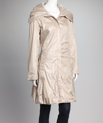 Champagne Hooded Jacket