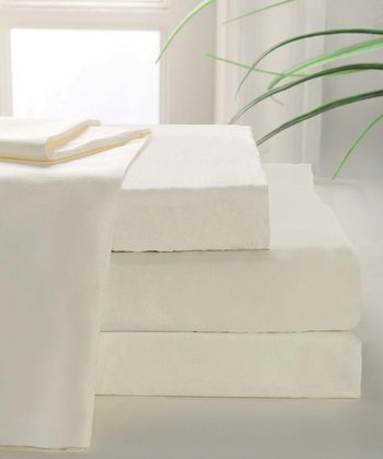 Ivory 800-Thread Count MAK Sheet Set