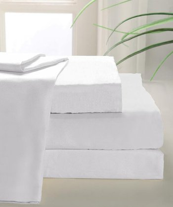 White 800-Thread Count MAK Sheet Set