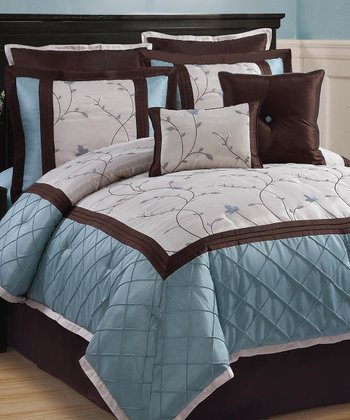 Blue Alexandria Comforter Set