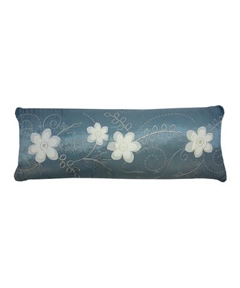Blue Allure Feather Pillow