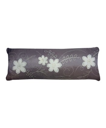 Lilac Allure Feather Pillow