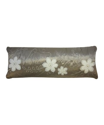 Taupe Allure Feather Pillow