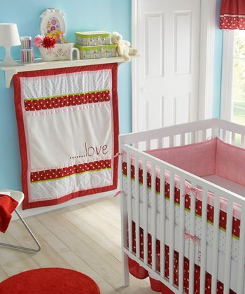 Red & White American Sweetheart Bumper Set