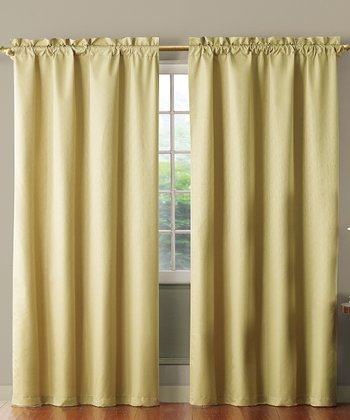 Beige Benedict Foam Back Curtain Panel
