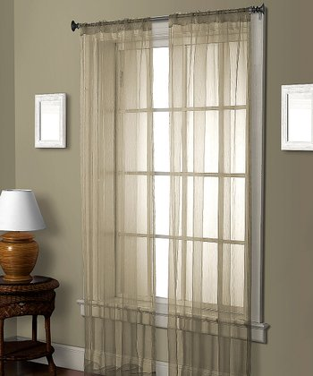 Ivory Cedar Curtain Panel