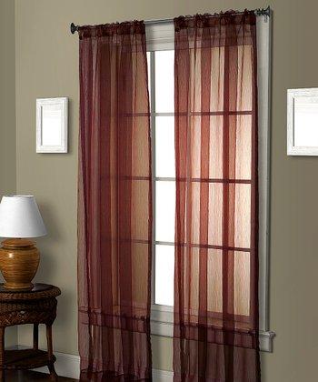 Red Cedar Curtain Panel