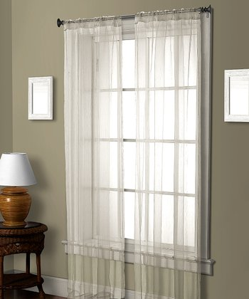 White Cedar Curtain Panel