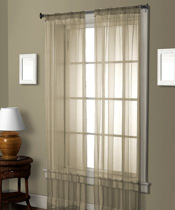 Ivory Pella Ceder Curtain Panel