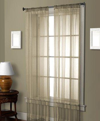 Ivory Pella Ceder Curtain Panel