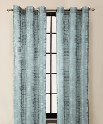 Blue Clinton Curtain Panel