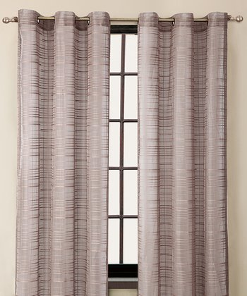 Taupe Clinton Curtain Panel