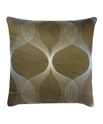 Brown Clairmont Throw Pillow