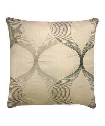 Taupe Clairmont Throw Pillow
