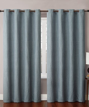 Blue Carmella Curtain Panel
