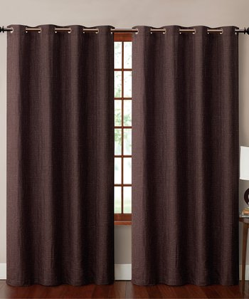 Brown Carmella Curtain Panel