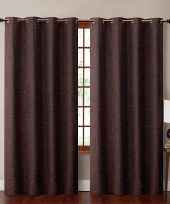 Brown Carmella Curtain Panel
