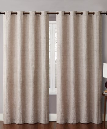 Gray Carmella Curtain Panel