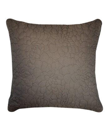 Taupe Daphne Throw Pillow