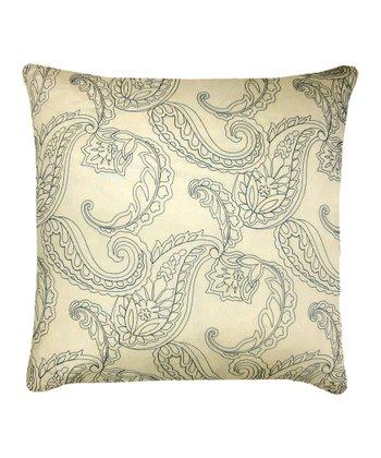 Ivory & Teal Huntington Throw Pillow - Set of Two