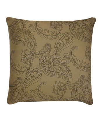 Taupe & Black Huntington Throw Pillow - Set of Two