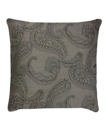 Black & Gray Huntington Throw Pillow - Set of Two