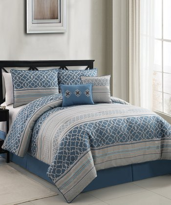 Blue Havoc Comforter Set