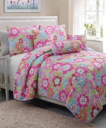 Cali Collection Full Quilt Set