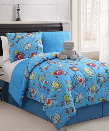 Mr. Robot Reversible Comforter Set