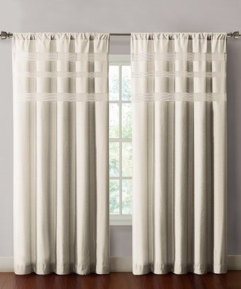 Ivory Maddox Curtain Panel