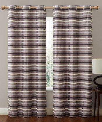 Charcoal Gray Morton Curtain Panel