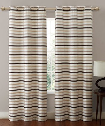 Ivory Morton Curtain Panel
