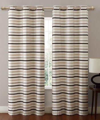 Ivory Morton Curtain Panel