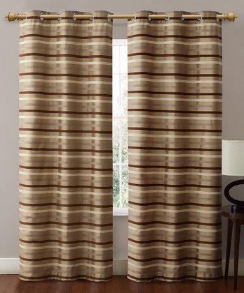 Taupe Morton Curtain Panel